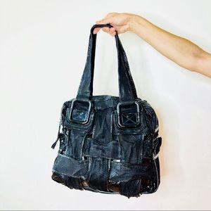 46719b69f83f ... low cost fendi bags fendi crossword woven mesh leather large bag grand  5d671 86075 ...